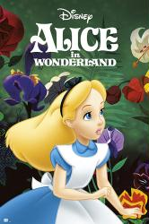 Alice In Wonderland movie poster (24x36) Disney animated 1951